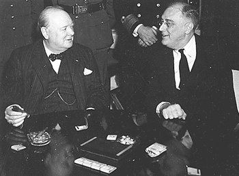 Churchill e Roosevelt