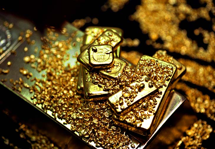 Gold ... the top-performing commodity of 2011.