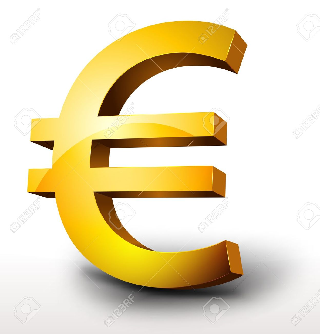 15542105-illustration-of-a-glossy-3d-golden-euro-currency-stock-vector-euro-money-symbol