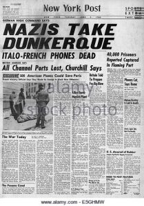 1940-new-york-post-front-page-reporting-german-army-captures-dunkirk-e5ghmw