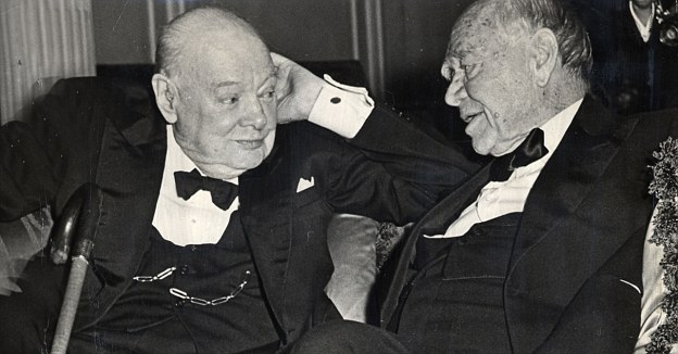 Churchill e Lord Beaverbrook