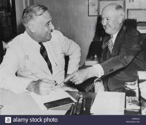 Franklin Delano Roosevelt e James Farley,